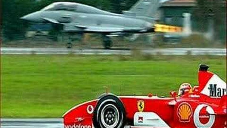 Michael Schumacher In Ferrari F1