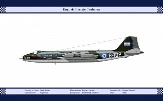 English Electric Canberra B Mark 62