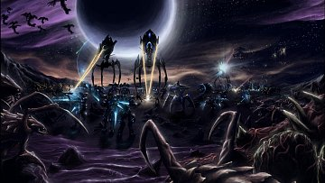 Starcraft Battle tapeta HD